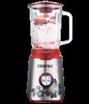 Блендер настольный Centek CT-1327 (1000 Вт, 3 скор.+импульс, cтекл. стакан 1,5л, тройн. лезвие)