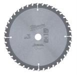 Диск пильный по дереву MILWAUKEE D 165х15,87х1,6 мм 40Z