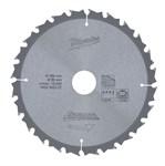 Диск пильный по дереву MILWAUKEE D 184х30х1,8 мм 24Z