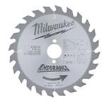 Диск пильный по дереву MILWAUKEE D 190х30х2,4 мм 24Z