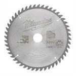 Диск пильный по дереву MILWAUKEE D 216х30х2,4 мм 48Z