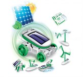Конструктор на солнечных батареях 6 в 1 «SOLAR MOTION» BRADEX