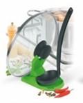 Подставка для крышки и ложки зеленая «ПОМОГАЙКА»