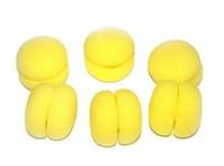 Бигуди «ШАРЛИЗ» желтые BRADEX