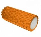 Валик для фитнеса «ТУБА» оранжевый, BRADEX