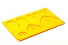 Форма силиконовая 3D «СЕРДЦЕ» 29x17x1 см