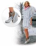 Чехлы грязезащитные для женской обуви на каблуках, размер M