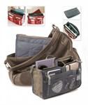 Органайзер для сумки «СУМКА В СУМКЕ» цвет серый, BRADEX