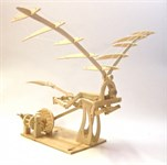 Конструктор из дерева «ОРНИТОПТЕР» Леонардо Да Винчи BRADEX