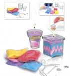 Набор для творчества «СВЕЧКИ СВОИМИ РУКАМИ» модель для изготовления 2-х видов свечей  BRADEX