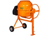 Бетоносмеситель ECO CM-190 (Объём 190 л., 1000 Вт., 230 В., вес 57 кг., педаль для опрокидывания)