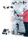 Набор для автолюбителя зимний 3 в 1 (лопата, скребок, щетка + универсальная ручка), BRADEX
