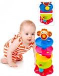 Игрушка детская с шариками «ПИРАМИДКА»