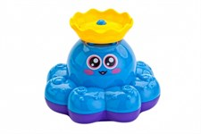 Игрушка детская для ванны «ФОНТАН-ОСЬМИНОЖКА» голубой