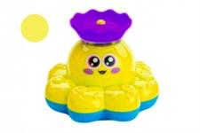 Игрушка детская для ванны «ФОНТАН-ОСЬМИНОЖКА» желтый