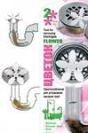 Приспособление для устранения засоров труб Цветок
