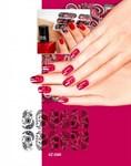 Арт-пленка для дизайна ногтей «КРУЖЕВО» BRADEX