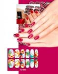 Арт-пленка для дизайна ногтей «АКВАРЕЛЬ» BRADEX