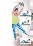 Мяч для фитнеса, йоги и пилатеса «ФИТБОЛ-25», BRADEX