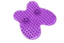 Коврик массажный рефлексологический для ног «РЕЛАКС МИ» фиолетовый BRADEX