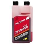 Масло минеральное PATRIOT POWER ACTIVE 2T c дозатором