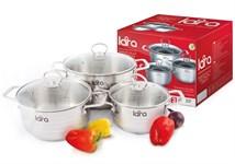 Набор посуды LARA LR02-81 серия Standart (2.3л + 4.5л + 5.7л)