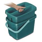 Ведро Combi Box с 2-мя отделениями (для мытья окон и ванной), Leifheit
