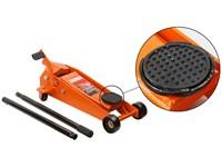 Домкрат подкатной 3,5 т с педалью для быстрого подъема STARTUL AUTO
