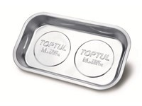 Тарелка магнитная прямоугольная 240х140 mm TOPTUL