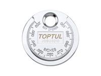 """Приспособление типа """"монета"""" для проверки зазора между электродами свечи TOPTUL"""