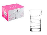 Набор стаканов, 6 шт., 350 мл, серия Ring, LAV