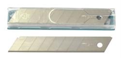 Лезвия сегментные д/ножа 18 мм, толщ 0,5 мм Solingen (упак/10 шт)