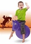 Игрушка детская-попрыгунчик «ВЕСЁЛАЯ ЛОШАДКА» фиолетовая BRADEX