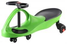 Машинка детская с полиуретановыми колесами, зеленая «БИБИКАР» BRADEX