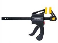 Струбцина тип F 450x60 мм, автоматическая, быстрозажимная, TOPEX