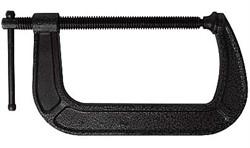 Струбцина тип G, 200 мм, чугун, KERN
