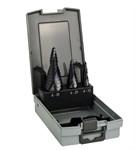 Набор из 3 ступенчатых сверл Bosch HSS-AlTiN 4-12; 4-20; 6-30 мм