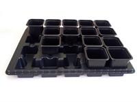 Транспортная кассета (поддон) для горшков 90х90х95 мм, (400х300х41 мм) PERFECTO LINEA