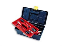 Ящик для инструмента пластмассовый 29x17x12,7 см (с лотком) TAYG