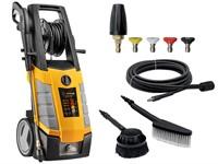 Очиститель высокого давления Gunter EHP-7510 (2.80 кВт; 200 бар; 520 л/ч; самовсасывание; индукц. мотор; барабан д/шланга с подключ.)