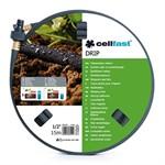 Сочащийся шланг DRIP 1/2, 15 метров, Cellfast
