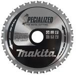 Пильный диск для металла,185x30x1.6 мм x48T, Makita