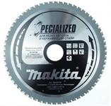 Пильный диск для нержавеющей стали,185x30x1.3 мм x64T, Makita