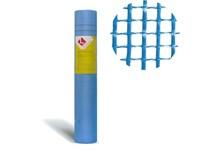 Стеклосетка штукатурная 5х5, 1мх50м, 160, синяя, PROFESSIONAL (Южный Океан))