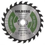 Диск пильный Hilberg Industrial Дерево 250*30*24Т