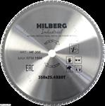 Диск пильный по металлу Hilberg Industrial 350*25,4 мм, 80Т зубов
