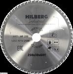 Диск пильный по металлу Hilberg Industrial 250*30 мм, 60Т зубов