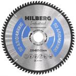 Диск пильный по алюминию Hilberg Industrial 230*30 мм, 80Т зубов