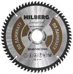 Диск пильный по ламинату Hilberg Industrial 190*30/20 мм, 64Т зуба