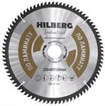 Диск пильный по ламинату Hilberg Industrial 230*30 мм, 80Т зубов